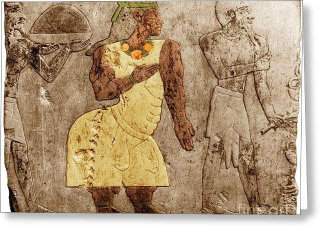 Muscular Dystrophy, Ancient Egypt Greeting Card by Science Source