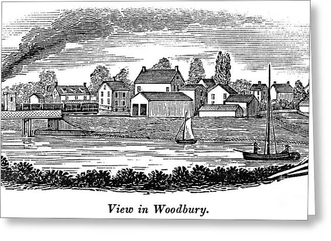 Woodbury Greeting Cards - New Jersey, 1844 Greeting Card by Granger