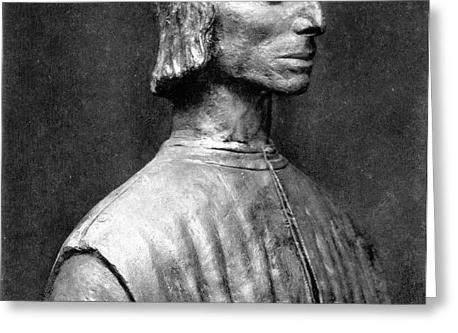 NICCOLO MACHIAVELLI Greeting Card by Granger