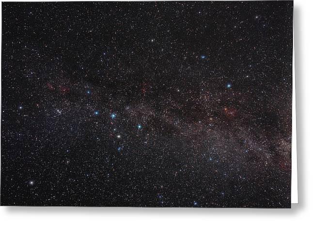 Ursa Minor Greeting Cards - North Celestial Pole Greeting Card by Eckhard Slawik