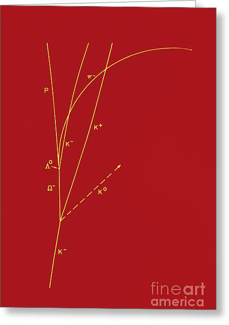Quark Greeting Cards - Omega Particle, 3rd Observation Greeting Card by Omikron