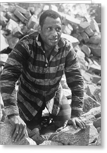 1933 Movies Greeting Cards - Paul Robeson (1898-1976) Greeting Card by Granger