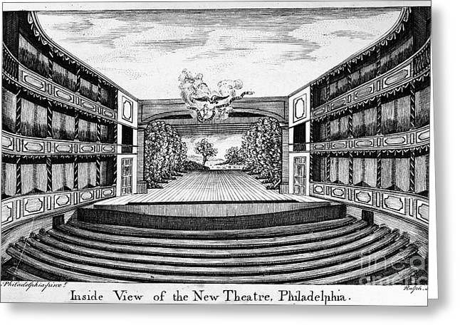 Orchestra Pit Greeting Cards - Philadelphia: Theater Greeting Card by Granger