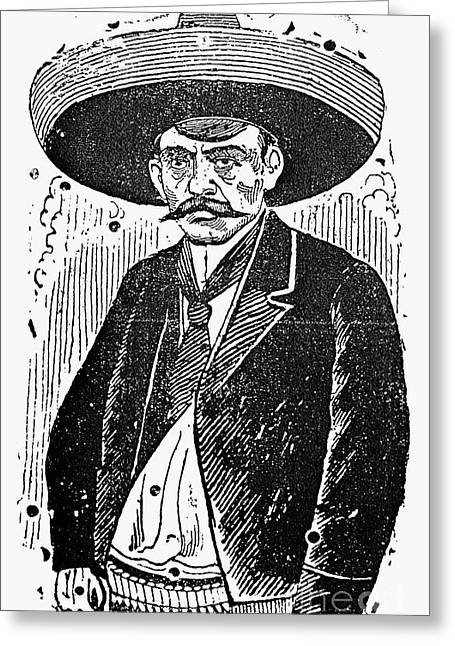 Mexican Revolution Greeting Cards - Posada: Revolutionary Greeting Card by Granger