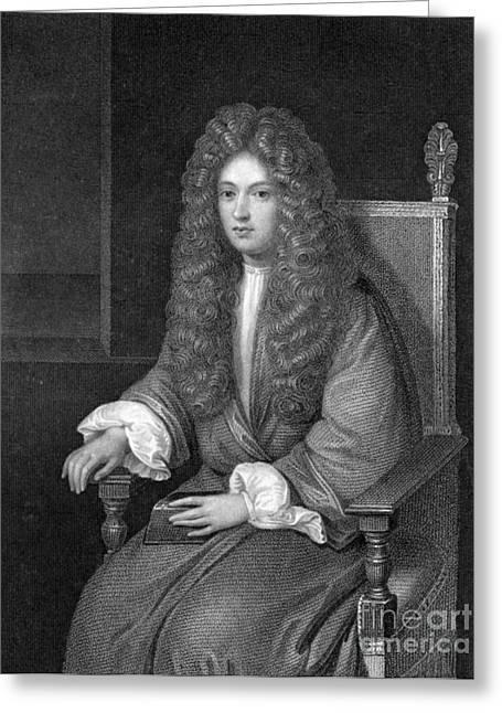Experiment Greeting Cards - Robert Boyle, British Chemist Greeting Card by Science Source