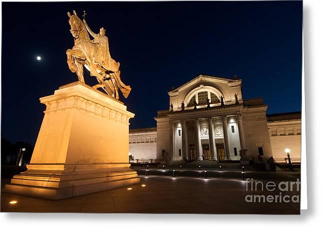Art Museum Greeting Cards - Saint Louis Art Museum Greeting Card by Chris  Brewington Photography LLC