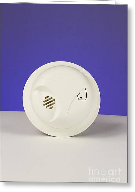 Smoke Detector Greeting Cards - Smoke Detector Greeting Card by Photo Researchers, Inc.
