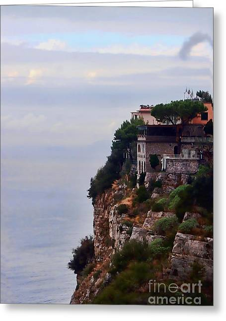 Artistic Photography Greeting Cards - Sorrento Greeting Card by Tom Prendergast