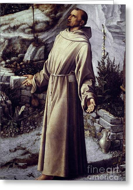 Francis Greeting Cards - St. Francis Of Assisi Greeting Card by Granger
