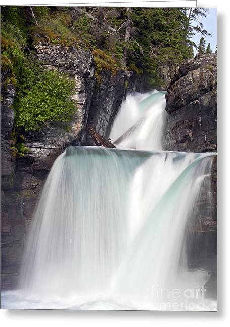 St Marys Falls Greeting Card by Scotts Scapes