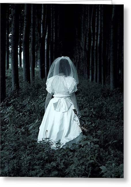 Get Greeting Cards - The Bride Greeting Card by Joana Kruse