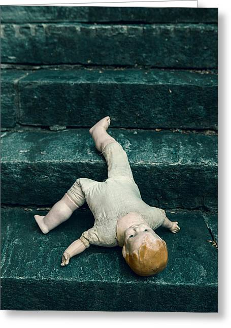 Doll Photographs Greeting Cards - The Doll Greeting Card by Joana Kruse