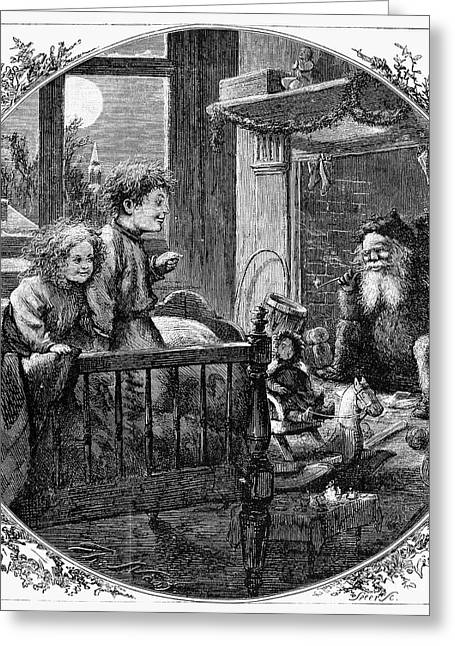Recently Sold -  - Nast Greeting Cards - Thomas Nast: Christmas Greeting Card by Granger