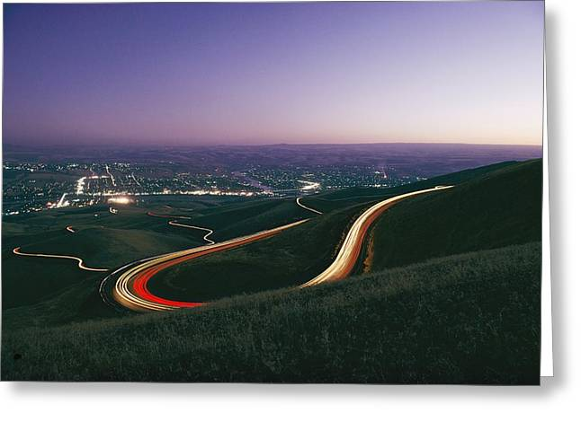 Lewiston Greeting Cards - Untitled Greeting Card by Dick Durrance Ii