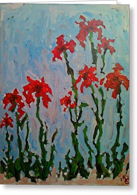 Impressionist Greeting Cards - Untitled Greeting Card by KC Chapman