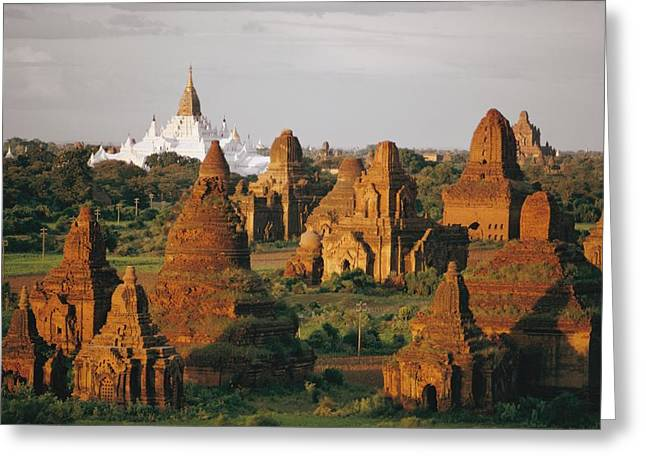 Indochinese Architecture And Art Greeting Cards - Untitled Greeting Card by W.E. Garrett