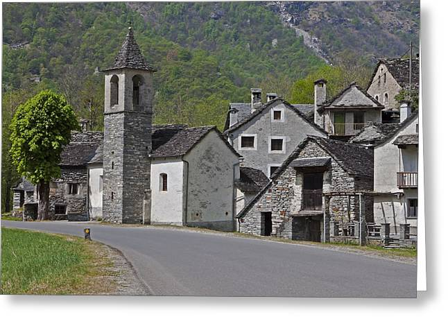Hike Greeting Cards - Valle Bavona - Ticino Greeting Card by Joana Kruse