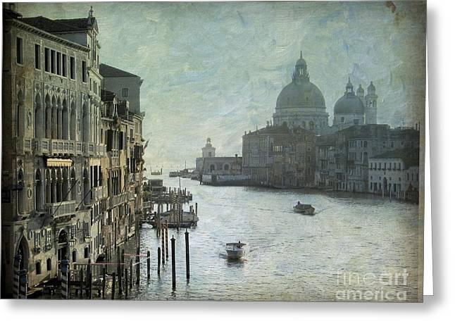 Italie Greeting Cards - Venice Greeting Card by Bernard Jaubert