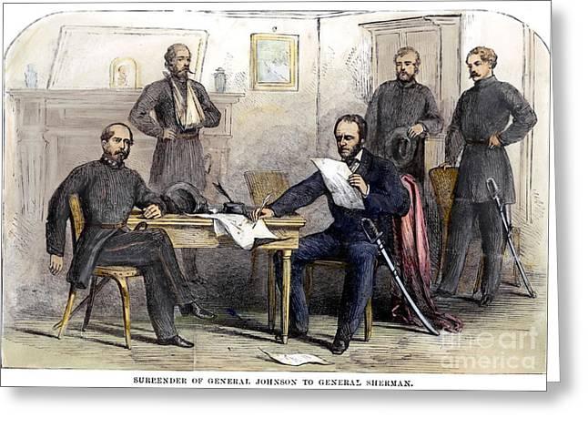 William Eggleston Greeting Cards - William Tecumseh Sherman Greeting Card by Granger
