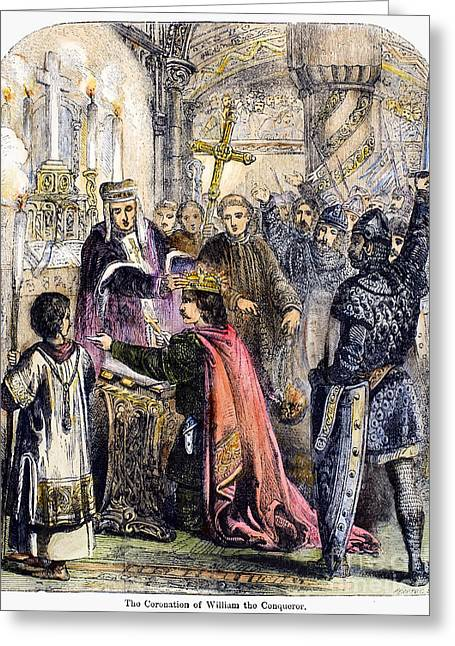 Duke Boys Greeting Cards - William The Conqueror Greeting Card by Granger