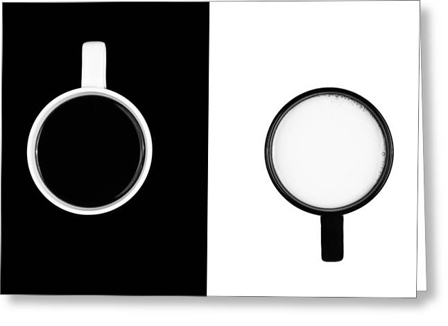 Orient Photographs Greeting Cards - Yin and Yang Greeting Card by Gert Lavsen