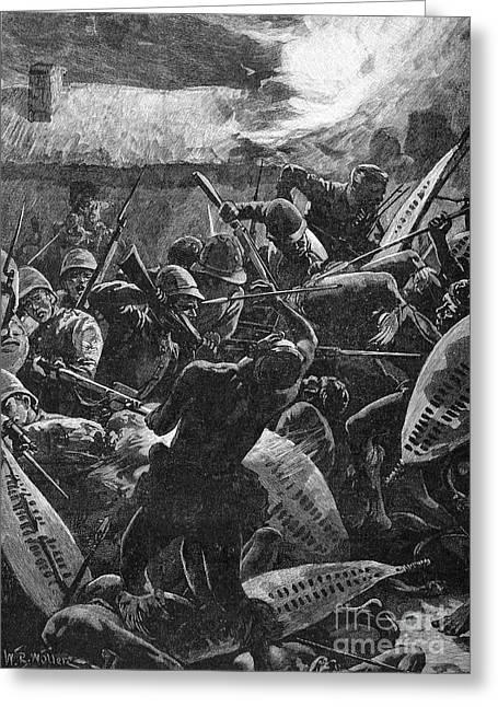 Bayonet Greeting Cards - Zulu War, 1879 Greeting Card by Granger