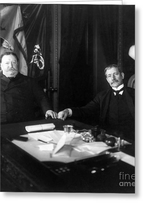 Secretary Of State Greeting Cards - William Howard Taft Greeting Card by Granger