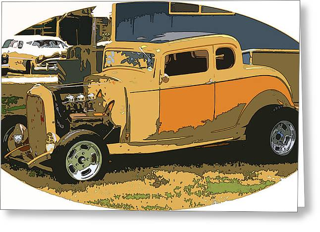 32 Ford Truck Greeting Cards - 32 Ford Greeting Card by Steve McKinzie