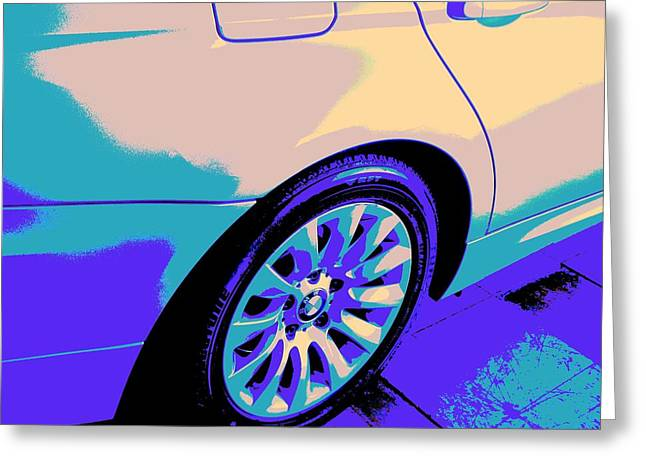 Igh Greeting Cards - 328i-CRC2012-BMW-PSY-106 Greeting Card by Chuck Re