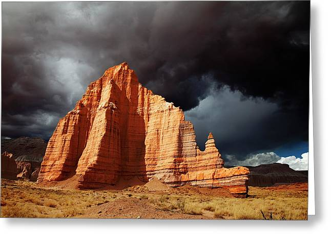 Awed Greeting Cards - Capitol Reef National Park Greeting Card by Mark Smith