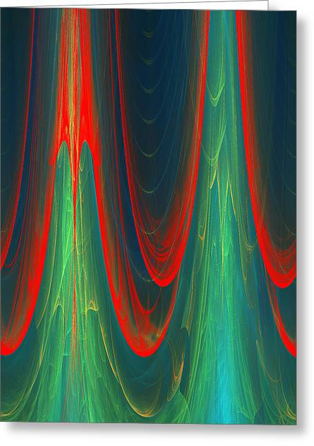 Generative Abstract Greeting Cards - 347 Greeting Card by Lar Matre