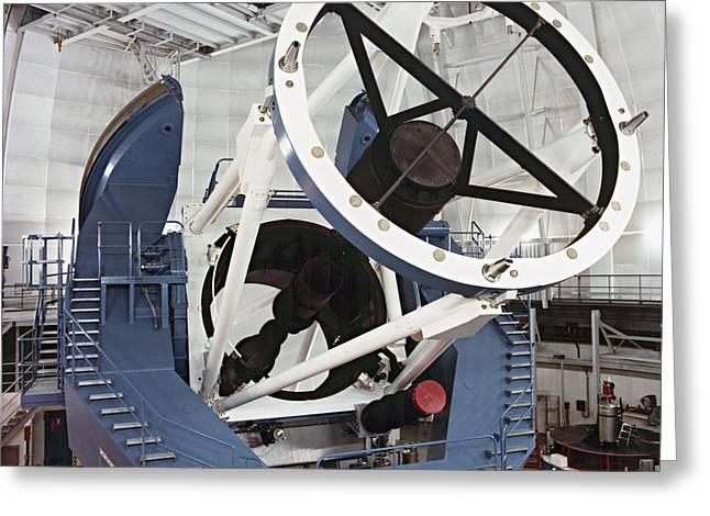 Diameter Greeting Cards - 3.5-metre Optical Telescope Greeting Card by Eckhard Slawik