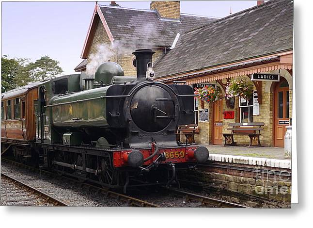 3650 At Upper Arley Greeting Card by John Chatterley