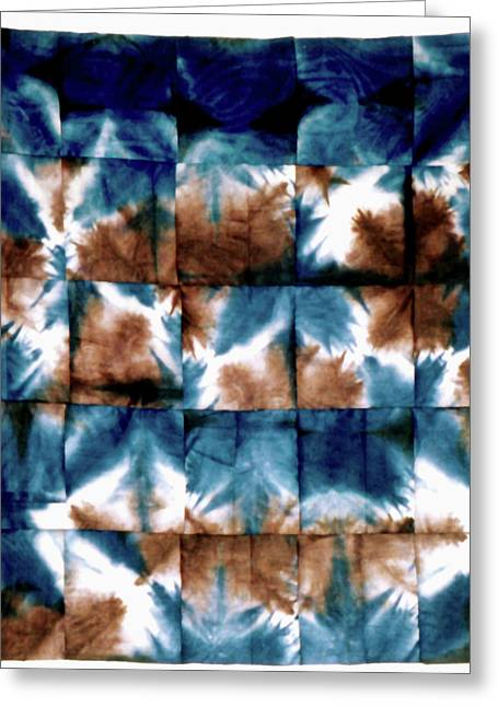 Bass Tapestries - Textiles Greeting Cards - 37 Greeting Card by Mildred Thibodeaux