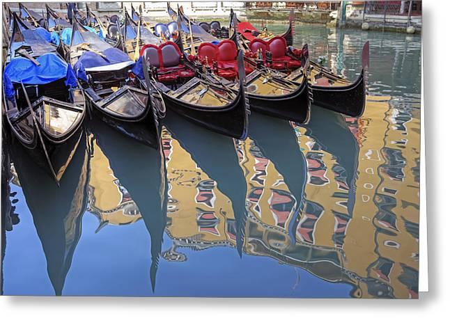 Car Park Greeting Cards - Venezia Greeting Card by Joana Kruse