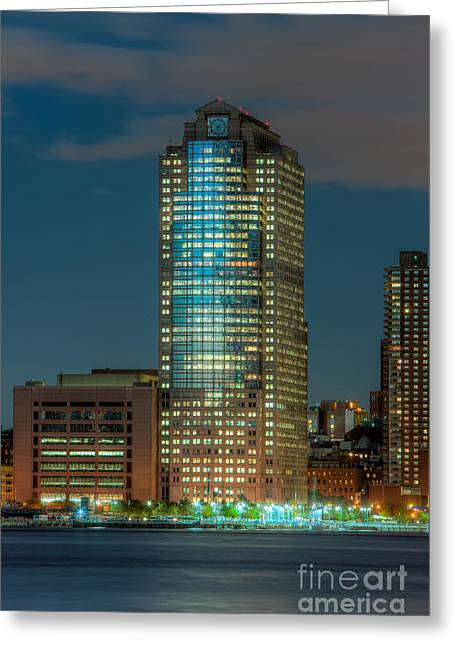 388 Greenwich Street At Twilight I Greeting Card by Clarence Holmes