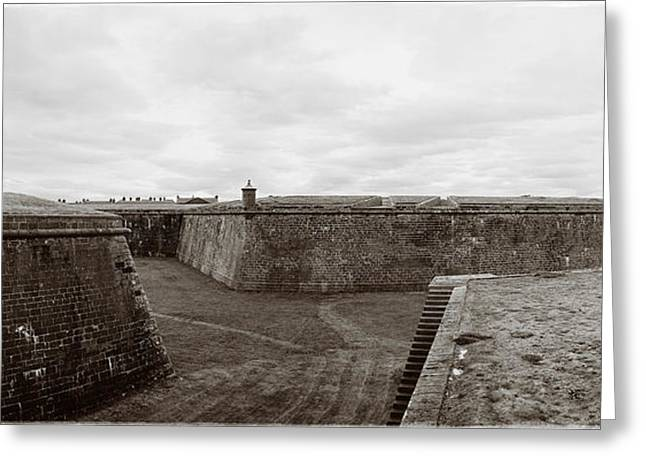 Fort George Greeting Cards - 39 Steps to Death Greeting Card by Jan Faul