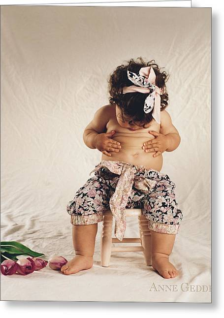 Baby Greeting Cards - Untitled Greeting Card by Anne Geddes