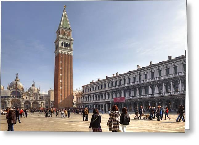 Floriano Francesconi Greeting Cards - Venezia Greeting Card by Joana Kruse