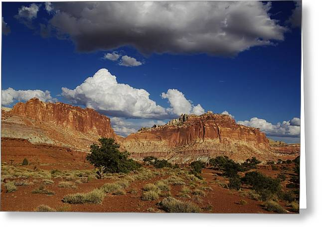 Desert Framed Prints Greeting Cards - Capitol Reef National Park Greeting Card by Mark Smith