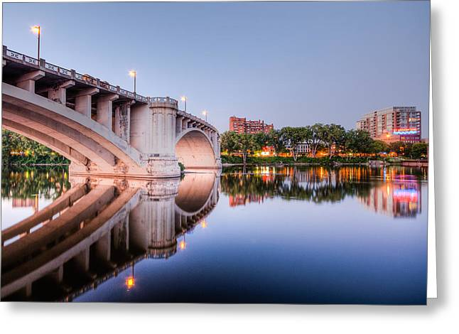 Agronomy Greeting Cards - 3rd Avenue Bridge Four Greeting Card by Josh Whalen