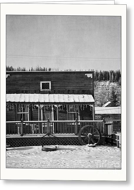 Klondike Gold Rush Greeting Cards - 3th Avenue Greeting Card by Priska Wettstein