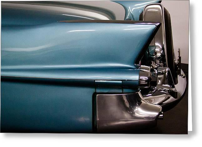 1955 Cadillac Eldorado 2 Door Convertible Greeting Card by David Patterson