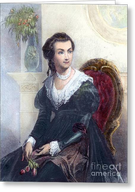 First-lady Greeting Cards - Abigail Adams (1744-1818) Greeting Card by Granger