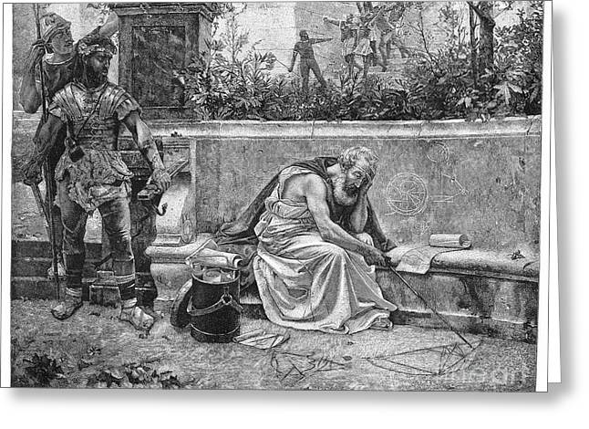 Archimedes (287?-212 B.c.) Greeting Card by Granger