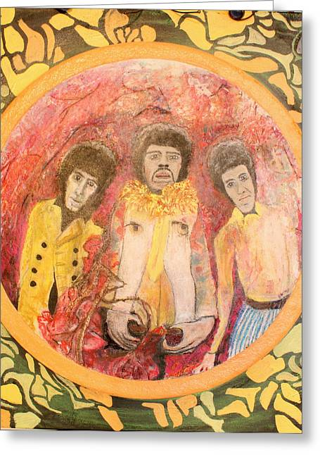 Are You Experienced. Greeting Card by Ken Zabel