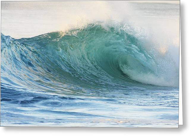 Vince Greeting Cards - Beautiful Wave Breaking Greeting Card by Vince Cavataio - Printscapes