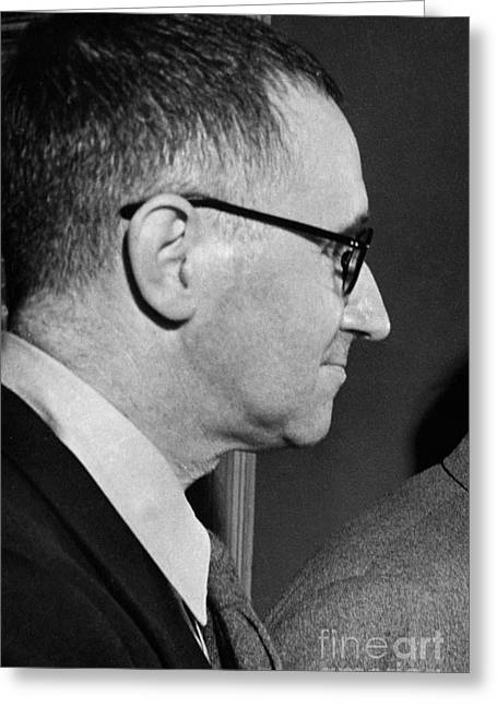 Marxists Greeting Cards - Bertolt Brecht (1898-1956) Greeting Card by Granger