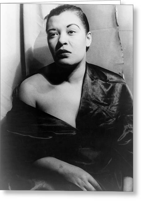 Van Vechten Greeting Cards - Billie Holiday (1915-1959) Greeting Card by Granger