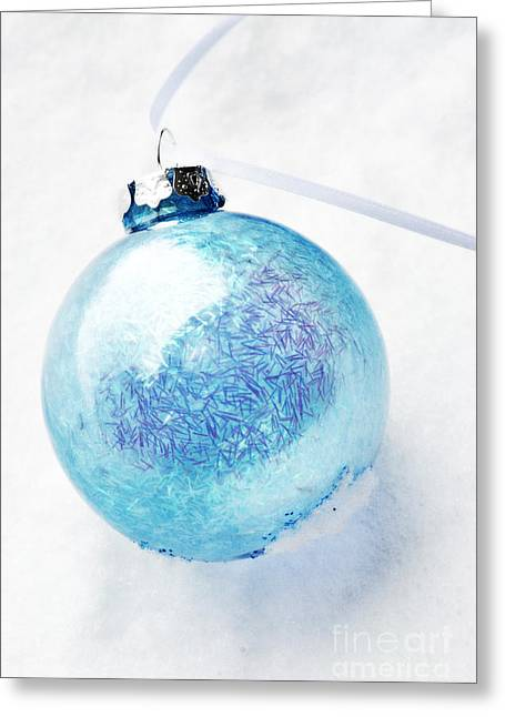 Outdoor Still Life Greeting Cards - Christmas Ornament Greeting Card by HD Connelly